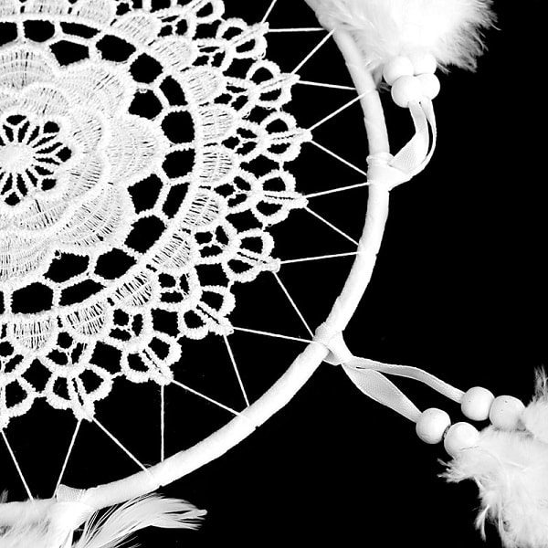 Attrape rêve géant blanc, 4