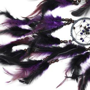 Attrape rêve indien violet 4