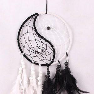 Attrape rêve yin yang 2
