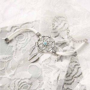 Bracelet pour femme avec attrape rêve Blanc