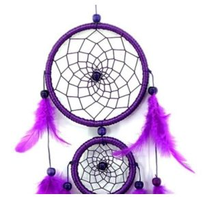 Attrape rêve violet 2