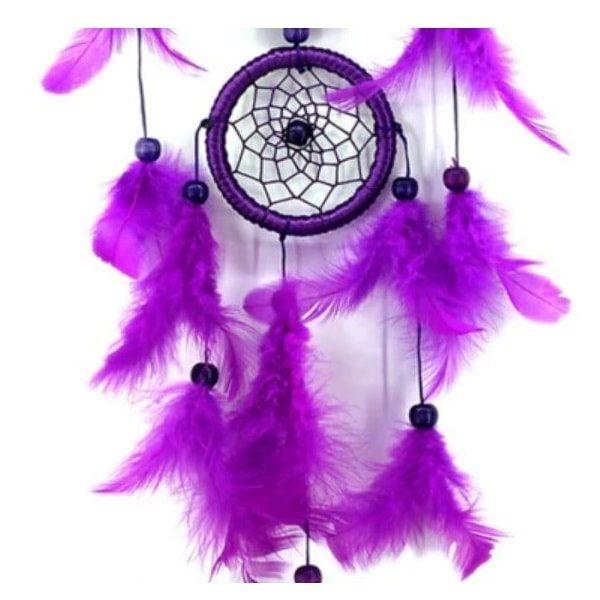 Attrape rêve violet 3