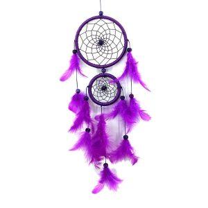 Attrape rêve violet