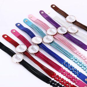 Bracelet montre attrape rêve