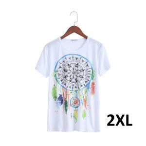 T shirt attrape rêve femme, taille 2XL