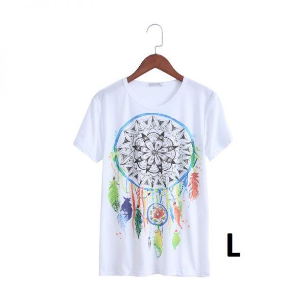 T shirt attrape rêve femme, taille L