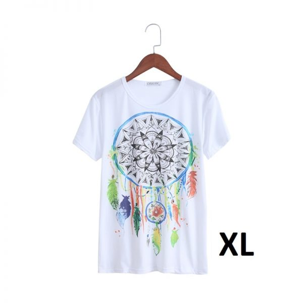 T shirt attrape rêve femme, taille XL