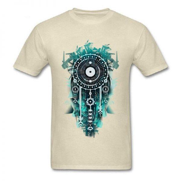 Tee shirt homme attrape rêve - Beige