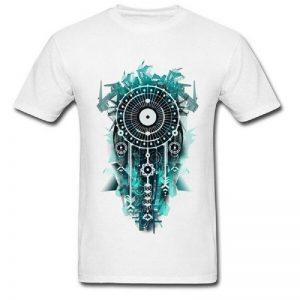 Tee shirt homme attrape rêve - Blanc