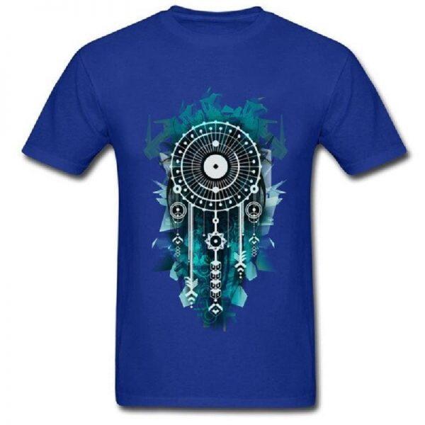 Tee shirt homme attrape rêve - Bleu