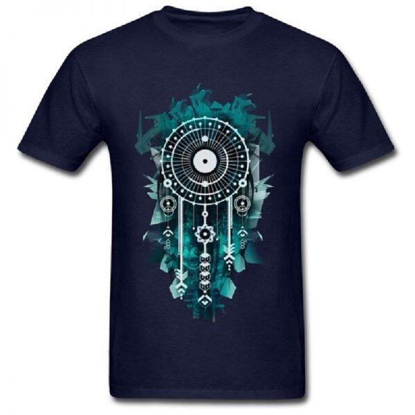 Tee shirt homme attrape rêve - Bleu Foncé