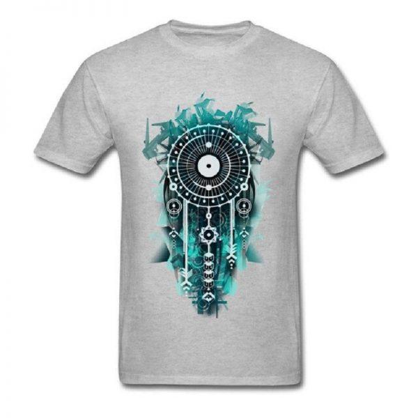 Tee shirt homme attrape rêve - Gris