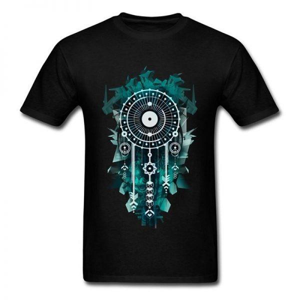 Tee shirt homme attrape rêve - Noir