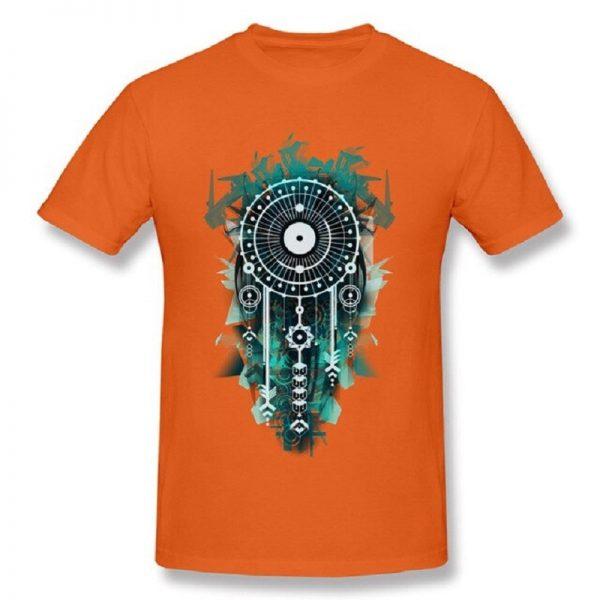 Tee shirt homme attrape rêve - Orange