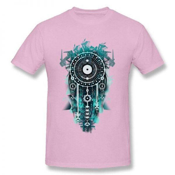 Tee shirt homme attrape rêve - Rose