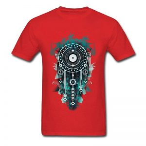 Tee shirt homme attrape rêve - Rouge