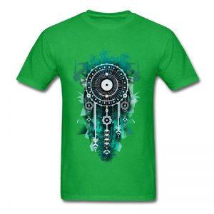 Tee shirt homme attrape rêve - Vert